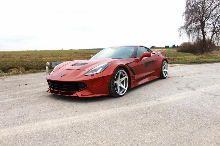 Power Parts Widebody Chevrolet Corvette C7 Tuning 11 Power Parts Widebody Chevrolet Corvette C7   20cm mehr