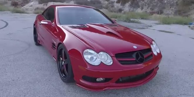 Video: Test – RENNTech Mercedes SL55 AMG mit 615HP
