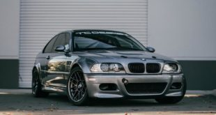 Racing Tuning BMW E46 M3 2 310x165 Heftig   Widebody BMW E46 M3 auf CCW Wheels in Phoenixgelb