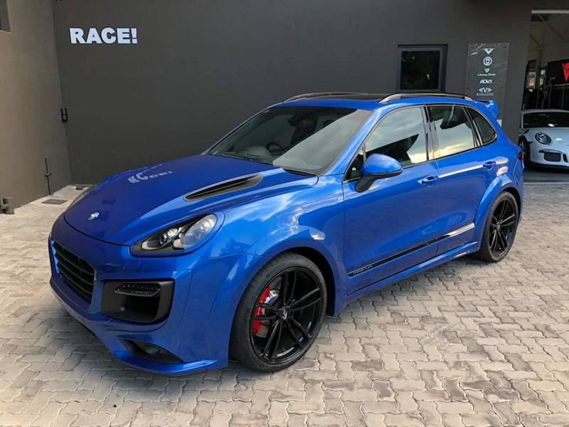 Techart Magnum Porsche Cayenne RACE SOUTH AFRICA Tuning 2017 4 TECHART Magnum Porsche Cayenne by RACE! SOUTH AFRICA
