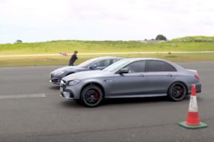 Tesla Model S P100D gegen 2018 Mercedes AMG E63 310x205 Video: Tesla Model S P100D gegen 2018 Mercedes AMG E63