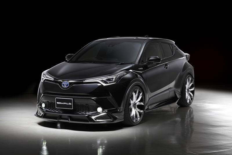 Wald Internationale Toyota C HR Bodykit 22 Z%C3%B6ller Tuning 2017 3 Wald Internationale Toyota C HR mit Bodykit & 22 Zöllern