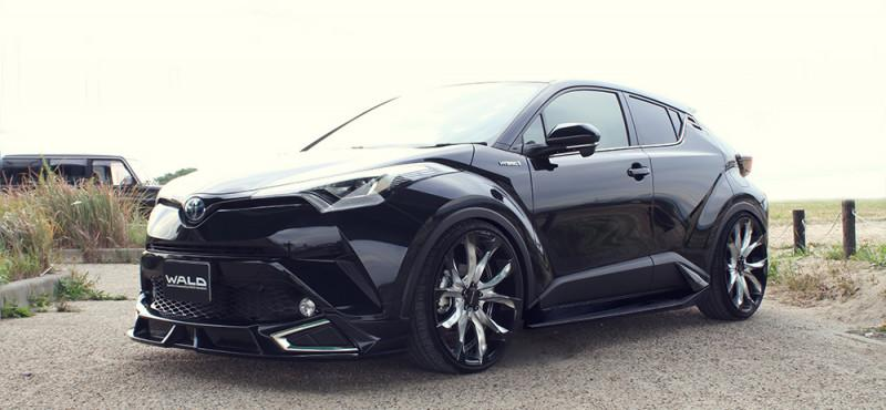 Wald Internationale Toyota C HR Bodykit 22 Z%C3%B6ller Tuning 2017 5 Wald Internationale Toyota C HR mit Bodykit & 22 Zöllern