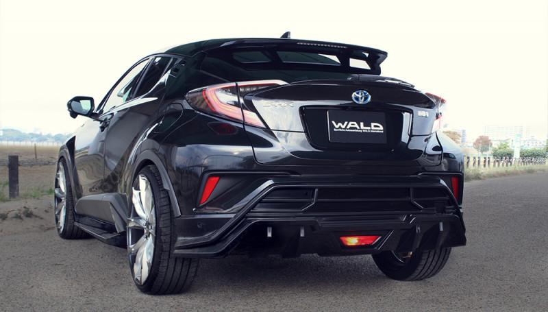 Wald Internationale Toyota C HR Bodykit 22 Z%C3%B6ller Tuning 2017 6 Wald Internationale Toyota C HR mit Bodykit & 22 Zöllern