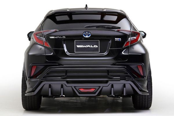 Wald Internationale Toyota C HR Bodykit 22 Z%C3%B6ller Tuning 2017 8 Wald Internationale Toyota C HR mit Bodykit & 22 Zöllern