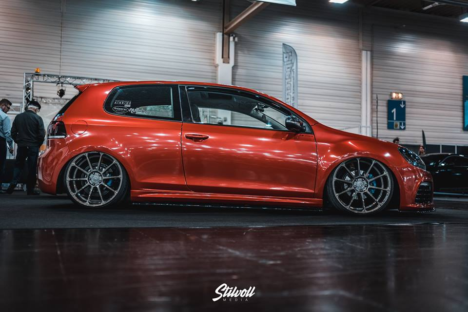 Wow Effekt Yido Yp2 Felgen In 20 Zoll Am Vw Golf R Mk7
