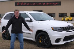 2018 Jeep Trackhawk Grand Cherokee Hennessey 310x205 Video: 2018 Jeep Trackhawk Grand Cherokee mit 707 PS Hellcat Motor