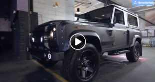 6.2L V8 Long Nose Widebody Defender by Kahn 310x165 Video: Krasses Teil   BMW E36 M3 mit Pandem Bodykit & V8