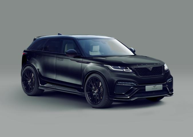 Preview Widebody Kit From Aspire Design On Range Rover