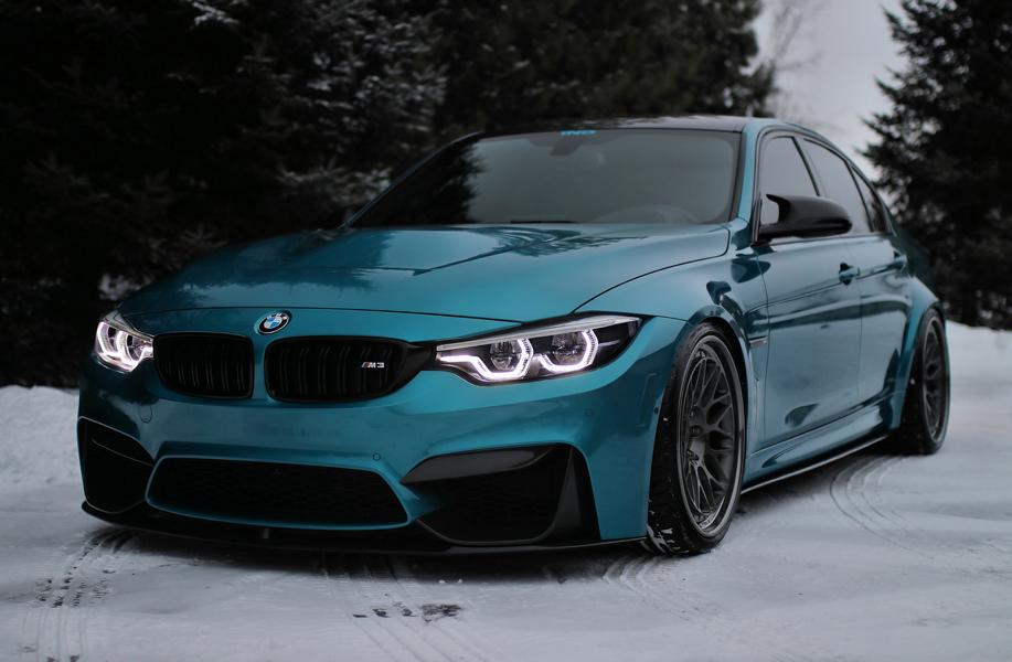 Photo Story Atlantis Blue Amp Hre Rims On The Bmw M3 F80