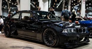 BMW E36 M3 mit Pandem Bodykit V8 310x165 Pandem Widebody Kit am 2020 Nissan Titan Pickup