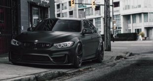 BMW M3 F80 Brixton Forged PF1 Black Tuning 2 310x165 Brixton Forged CM10 Felgen am olivgrünen BMW M3 F80