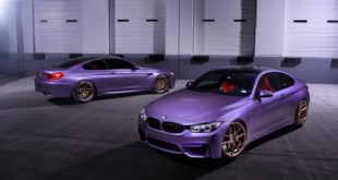BMW M4 F82 M6 F13 in Matte Purple Lila matt 5 310x165 Photostory: BMW M4 F82 & M6 F13 in Matte Purple (Lila matt)