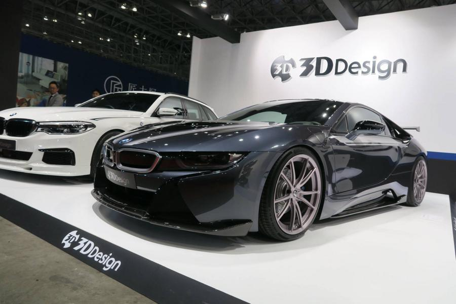 BMW i8 Tuning 3D Design Bodykit Facelift 2018 2 Facelift Bodykit   BMW i8 vom Tuner 3D Design aus Japan