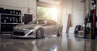 Bodykit Vossen CVT Felgen Toyota GT86 Coupe Tuning 6 310x165 Camber Style und Widebody Kit am Toyota GT86 Coupe
