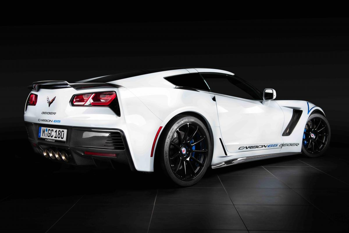 Chevrolet Corvette Z06 Geiger Carbon 65 Edition Tuning