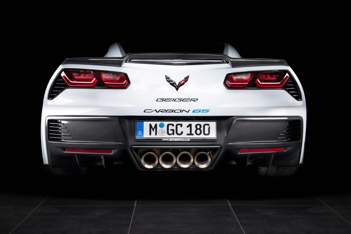 Chevrolet Corvette Z06 Geiger Carbon 65 Edition Tuning 2017 8 770 PS   Chevrolet Corvette Z06 Geiger Carbon 65 Edition
