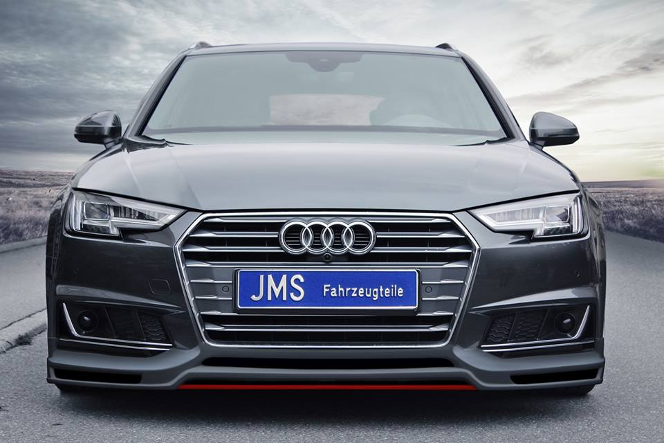 Audi A4 B9 >> Jms Shows Racelook Body Kit On The Audi A4 B9 With S Line