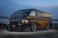 Kuhl racing Toyota Hiace Widebody 2018 Tuning 1 190x127 Typisch Japan   Kuhl racing Toyota Hiace Widebody 2018