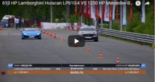Lamborghini Huracan LP610 4 vs Mercedes Benz CLS63 AMG 310x165 Video: Dragrace Lamborghini Huracan LP610 4 vs Mercedes Benz CLS63 AMG