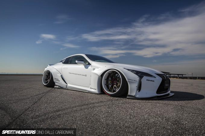 Liberty walk Performance Lexus LC500 Widebody Tuning 32 Mega   Liberty walk Performance Lexus LC500 / LC 500h