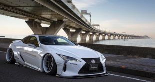 Liberty walk Performance Lexus LC500 Widebody Tuning 36 310x165 Savini Wheels & Liberty Walk Widebody Kit am BMW i8
