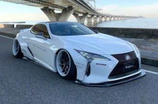 Liberty walk Performance Lexus LC500 Widebody Tuning 7 1 310x205 Mega   Liberty walk Performance Lexus LC500 / LC 500h