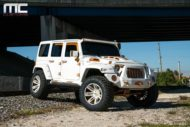 MC Customs Widebody Jeep Wrangler Tuning Offroad 8 190x127 Monster   MC Customs Widebody Jeep Wrangler in weiß