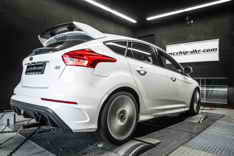 Mcchip DKR Ford Focus RS MK3 Chiptuning 1 385 PS & 500 NM im Mcchip DKR Ford Focus RS (MK3)