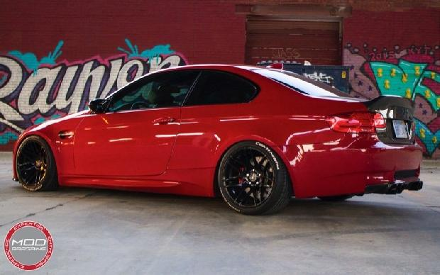 Melbourne Red E92 6 BMW Tuning 7 Oberhammer   ModBargains BMW E92 M3 in Melbourne Rot