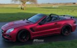 Mercedes Benz SL R230 SR66.1 Design Widebody Kit Tuning 1 155x97 Mercedes Benz SL R230 mit SR66.1 Design Widebody Kit
