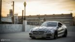 Mercedes Benz SL R230 SR66.1 Design Widebody Kit Tuning 12 155x87 Mercedes Benz SL R230 mit SR66.1 Design Widebody Kit