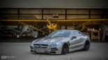 Mercedes Benz SL R230 SR66.1 Design Widebody Kit Tuning 17 155x87 Mercedes Benz SL R230 mit SR66.1 Design Widebody Kit