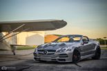 Mercedes Benz SL R230 SR66.1 Design Widebody Kit Tuning 18 155x103 Mercedes Benz SL R230 mit SR66.1 Design Widebody Kit