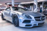 Mercedes Benz SL R230 SR66.1 Design Widebody Kit Tuning 20 155x103 Mercedes Benz SL R230 mit SR66.1 Design Widebody Kit