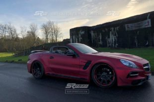 Mercedes Benz SL R230 SR66.1 Design Widebody Kit Tuning 7 310x205 Mercedes Benz SL R230 mit SR66.1 Design Widebody Kit