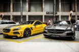 Mercedes Benz SL R230 SR66.1 Design Widebody Kit Tuning 8 155x103 Mercedes Benz SL R230 mit SR66.1 Design Widebody Kit
