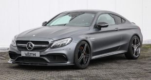 Mercedes C63 AMG Coupe Cabrio V%C3%A4th C205 A205 Tuning 1 310x165 Stark: VÄTH Mercedes AMG GT R mit 700 PS & 800 NM