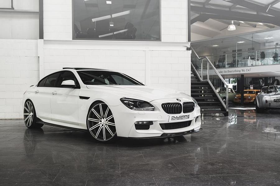 perfect mulgari bmw 6er gran coupe on vossen wheels magazine. Black Bedroom Furniture Sets. Home Design Ideas