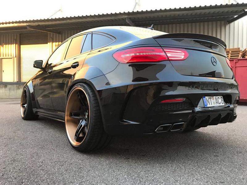 Prior Widebody Forgiato Wheels Mercedes GLE 10 Prior Widebody Kit & Forgiato Wheels am Mercedes GLE