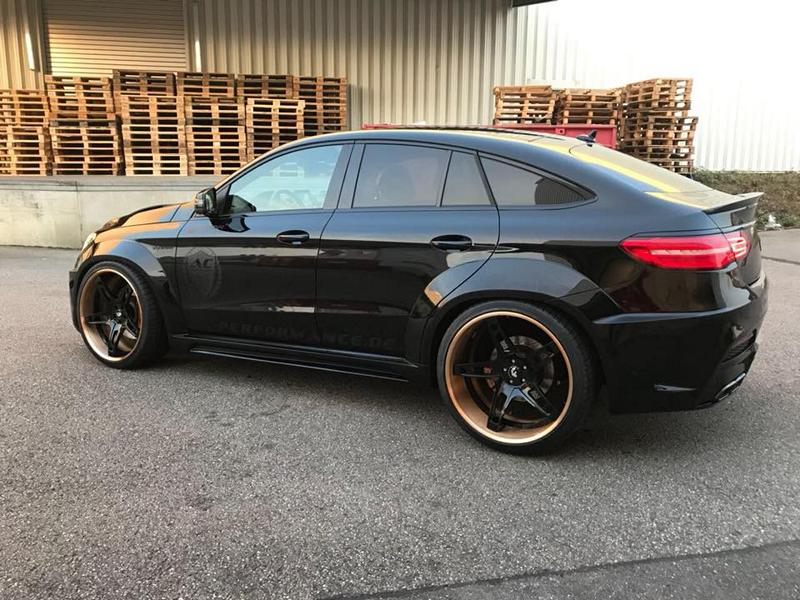 Prior Widebody Forgiato Wheels Mercedes GLE 11 Prior Widebody Kit & Forgiato Wheels am Mercedes GLE