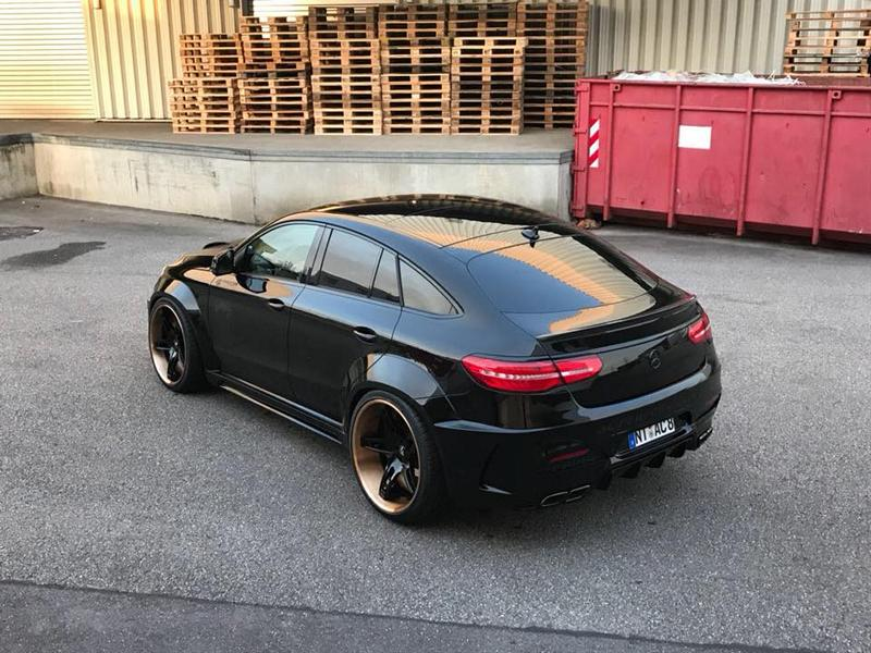 Prior Widebody Forgiato Wheels Mercedes GLE 13 Prior Widebody Kit & Forgiato Wheels am Mercedes GLE