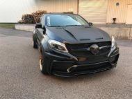 Prior Widebody Forgiato Wheels Mercedes GLE 3 190x143 Prior Widebody Kit & Forgiato Wheels am Mercedes GLE