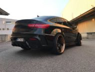 Prior Widebody Forgiato Wheels Mercedes GLE 4 190x143 Prior Widebody Kit & Forgiato Wheels am Mercedes GLE
