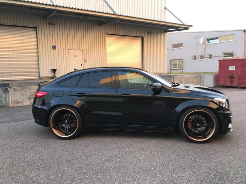Prior Widebody Forgiato Wheels Mercedes GLE 6 Prior Widebody Kit & Forgiato Wheels am Mercedes GLE