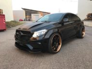 Prior Widebody Forgiato Wheels Mercedes GLE 9 190x143 Prior Widebody Kit & Forgiato Wheels am Mercedes GLE