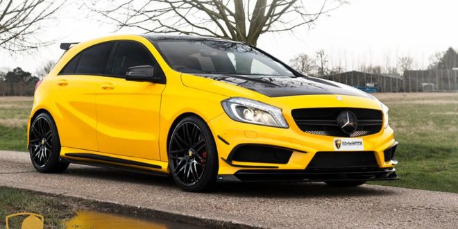 RevoZport & Brabus Parts am Mulgari Mercedes A45 AMG