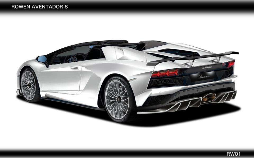 Rowen International Lamborghini Aventador S LP740 Tuning 4 WOW   Rowen International Lamborghini Aventador S (LP740)