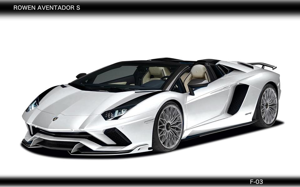 Rowen International Lamborghini Aventador S LP740 Tuning 5 WOW   Rowen International Lamborghini Aventador S (LP740)