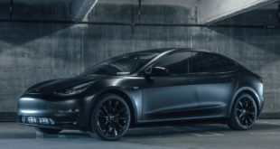 T Sportline Tesla Model 3 mattschwarz TST wheels 1 310x165 Tesla Model X P100D T Largo Limited Edition by T Sportline